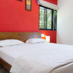 Bed room of Vagator Villas for rent in North Goa