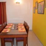 Dining Area of the 3 BR villa at Arpora