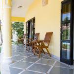 Vagator villa sit out view