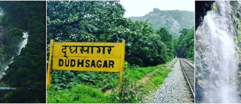 Dudhsagar Waterfalls in Goa