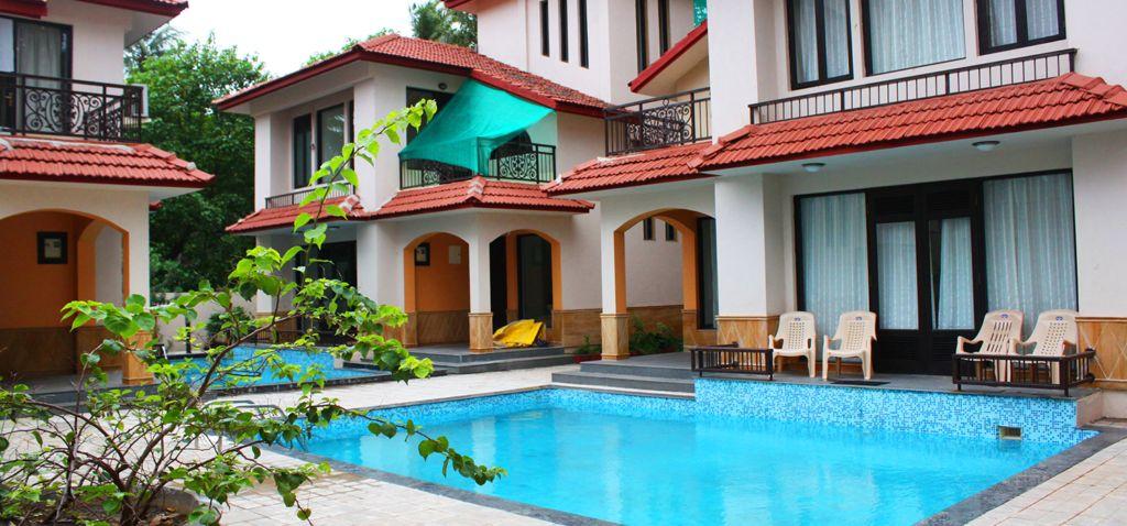 Calangute villa for rent in Goa