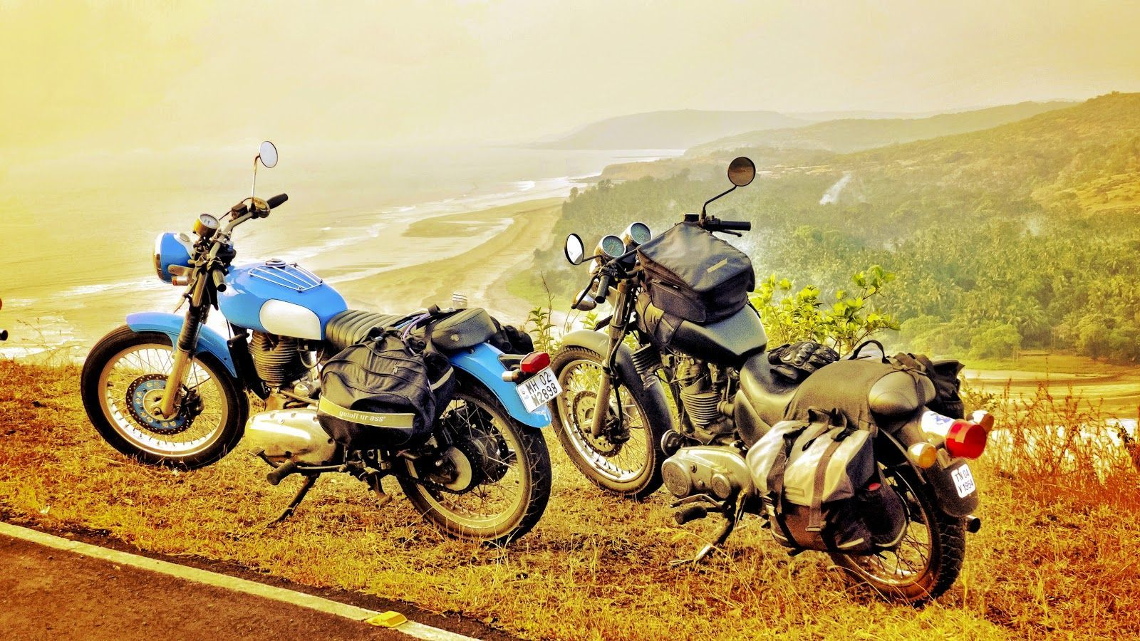 Hiring a Bike in Goa