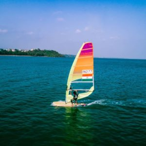 Water Sports in Goa -Wind Surfing in Goa Pic Credit Goa Travel Activities